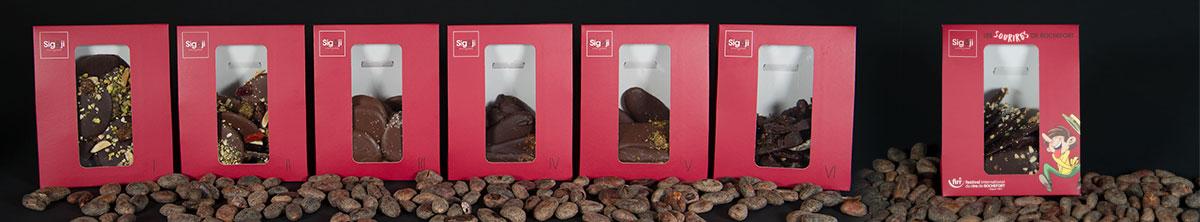 Chocolat Les gourmandises - Les sourires de Rochefort