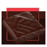 Praline chocolat au lait - Pavé Cinacien lait