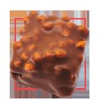 Praline chocolat au lait - Praliné noisette riz soufflé