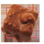 Praline chocolat au lait - Rocher praliné speculoos