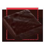 Praline chocolat noir - Pavé Cinacien noir